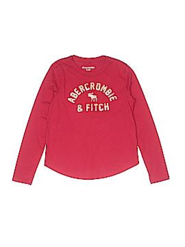 Abercrombie Long Sleeve T-Shirt Size 7 - 8