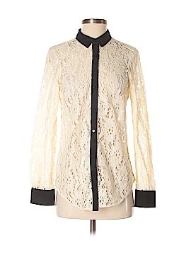 Vanessa Virginia Long Sleeve Blouse Size 2
