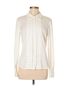 Semantiks Long Sleeve Button-Down Shirt Size M