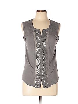 American Sleeveless Button-Down Shirt Size M