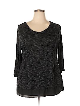 Apt. 9 3/4 Sleeve Top Size 1X (Plus)