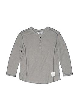 Zara Long Sleeve Henley Size 5