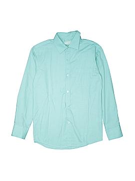 Appaman Long Sleeve Button-Down Shirt Size 14