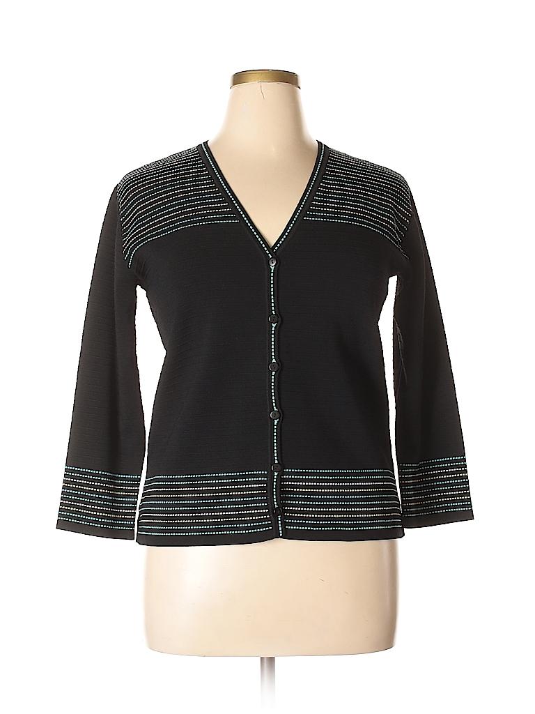 Grace Dane Lewis Women Cardigan Size XL