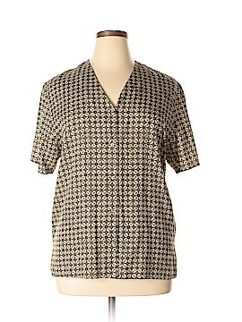 Pendleton Short Sleeve Blouse Size 14