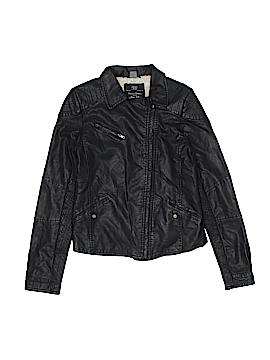 Zara Faux Leather Jacket Size 13 - 14