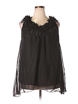 Simply Irresistible Sleeveless Blouse Size 2X (Plus)