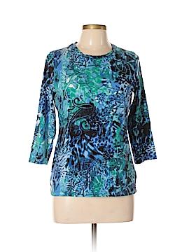 Jones New York Sport 3/4 Sleeve T-Shirt Size L