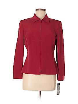 Kasper A.S.L. Silk Blazer Size 8 (Petite)