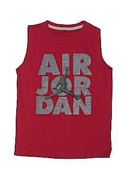 Air Jordan Sleeveless T-Shirt Size S (Kids)