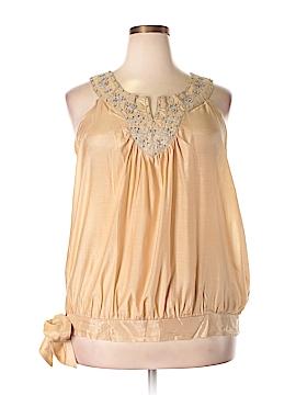 Simply Irresistible Sleeveless Blouse Size 3X (Plus)