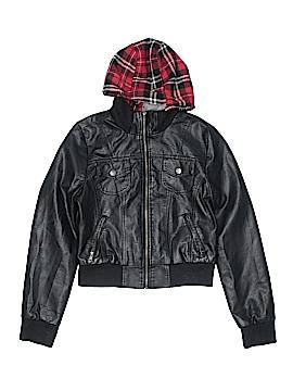Ashley Faux Leather Jacket Size M (Kids)