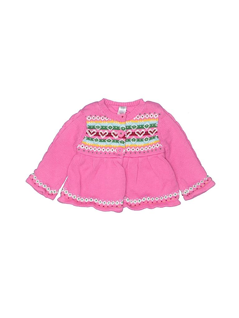 Baby Gap Girls Cardigan Size 3-6 mo