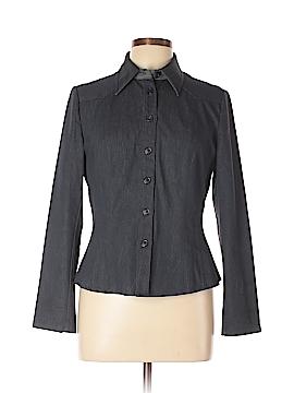 Lena Gabrielle Long Sleeve Button-Down Shirt Size 6