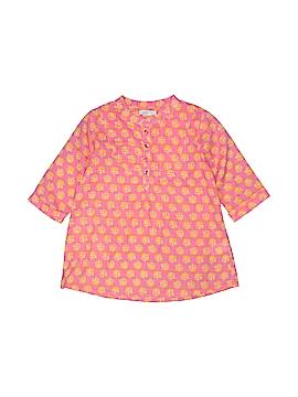 Garnet Hill 3/4 Sleeve Blouse Size 6