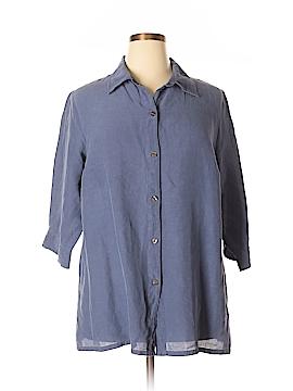 Avenue 3/4 Sleeve Silk Top Size 18 - 20 Plus (Plus)