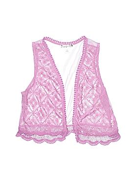 Knit Works Sleeveless Blouse Size 12