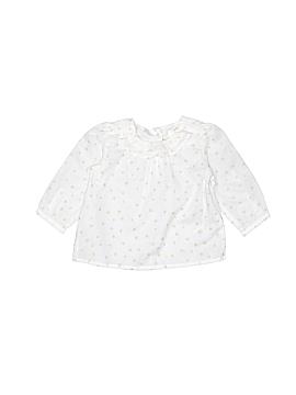 Baby B'gosh Long Sleeve Blouse Size 0-3 mo