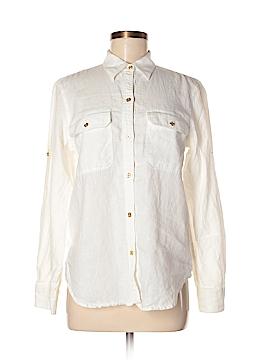 Lauren by Ralph Lauren Long Sleeve Button-Down Shirt Size M