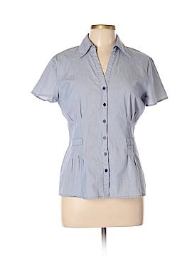 Covington Short Sleeve Button-Down Shirt Size L