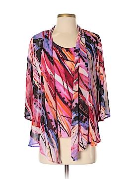 JM Collection 3/4 Sleeve Blouse Size S (Petite)