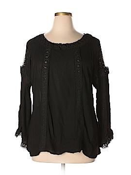 Forgotten Grace Long Sleeve Blouse Size 2X (Plus)