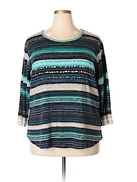 MULTIPLES Long Sleeve T-Shirt Size 3X (Plus)