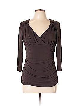 Classiques Entier 3/4 Sleeve Silk Top Size L