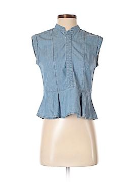 Rivet & Thread Short Sleeve Blouse Size 0