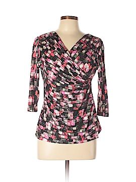 Nic + Zoe 3/4 Sleeve Top Size M