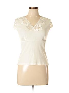 Petite Sophisticate Short Sleeve Top Size L
