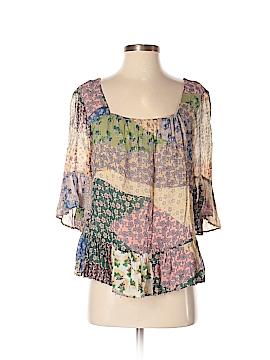 Floreat Short Sleeve Blouse Size S
