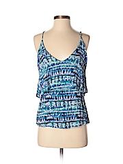 Aqua Women Sleeveless Blouse Size XS