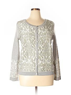 Garnet Hill Wool Cardigan Size XL