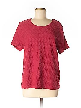 Sag Harbor Short Sleeve Top Size L