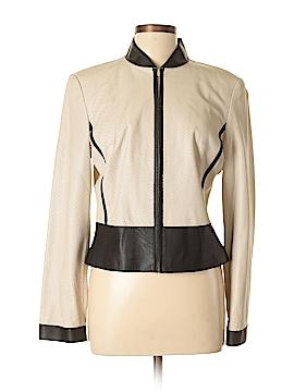 Bebe Leather Jacket Size L