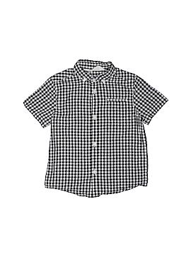 H&M Short Sleeve Button-Down Shirt Size 2 - 3