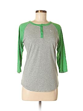 Nike 3/4 Sleeve Henley Size M