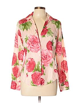 Coast Long Sleeve Button-Down Shirt Size 48 (IT)