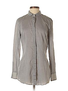 Brunello Cucinelli Long Sleeve Button-Down Shirt Size XL