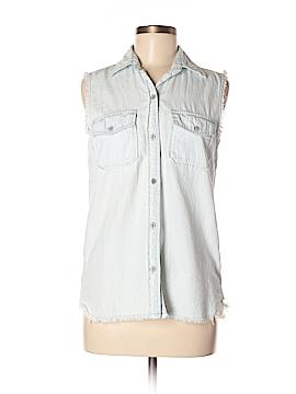 Current/Elliott Sleeveless Button-Down Shirt Size XS (0)
