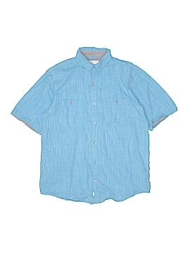 Paper Denim & Cloth Short Sleeve Button-Down Shirt Size 8
