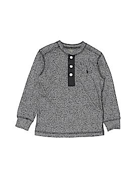 Polo by Ralph Lauren Long Sleeve Henley Size 3T - 3