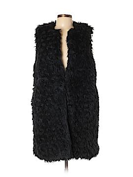 MICHAEL Michael Kors Faux Fur Jacket Size L