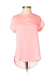 L8ter Women Short Sleeve Blouse Size S