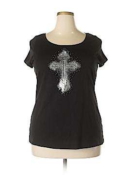 Susan Bristol Short Sleeve T-Shirt Size 1X (Plus)