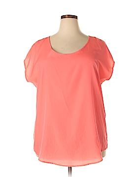 Ultra Flirt Short Sleeve Blouse Size 2X (Plus)
