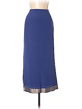 Monsoon Silk Skirt Size 12