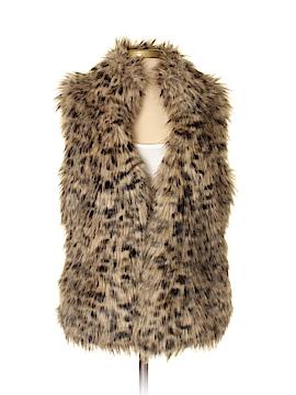 MICHAEL Michael Kors Faux Fur Vest Size XS