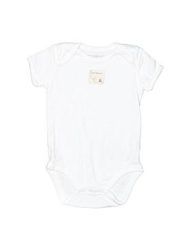 Burt's Bees Baby Short Sleeve Onesie Size 6-9 mo